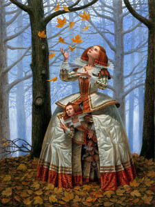 """Enigma""(2015), Michael Cheval, Created by dye sublimation"