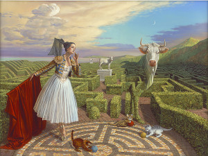 """Echo of Misconception""(2015), Michael Cheval"
